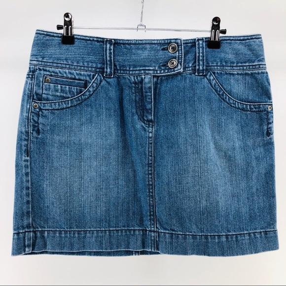 LOFT Dresses & Skirts - LOFT Classic Denim Mini Skirt